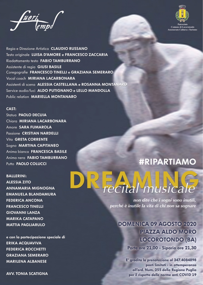 DREAMING...the recital